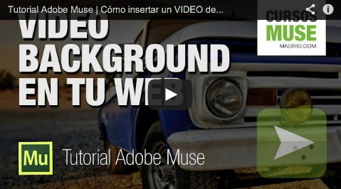 Video Background en Adobe Muse
