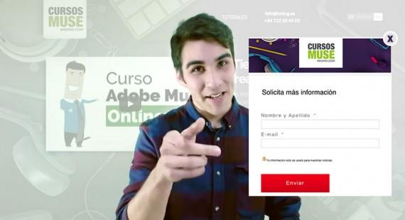 Tutorial Adobe Muse | Cómo obtener bases de datos de clientes